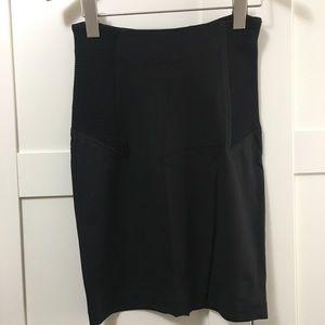 Alexander Wang skirt w side details and back zip